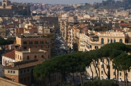 Enjoy the colors of the City from Rome's highest points