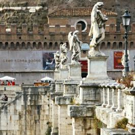 Make sure to drop by this place when you go to Castel Sant' Angelo.