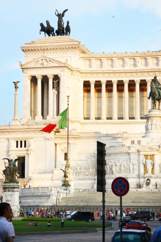 Every week we will feature either an interesting place to visit, or an art work to marvel at, food to eat, wine to drink, and a lot more exciting things to experience in Rome.